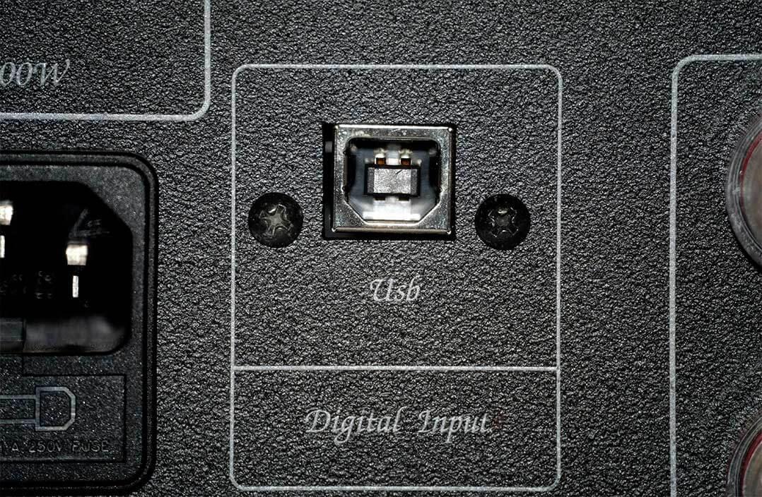 Unison Unico Due: Der USB-Eingang