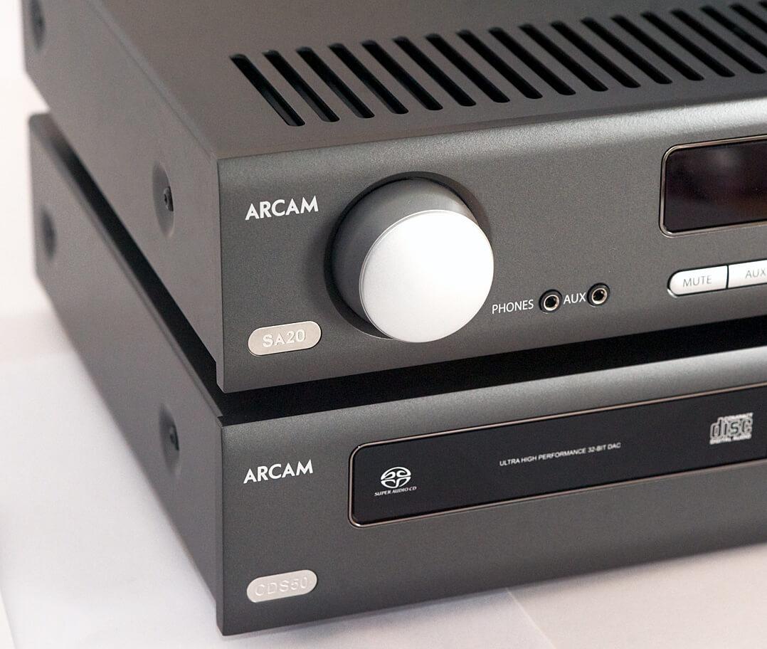 Arcam CDS50 & SA20
