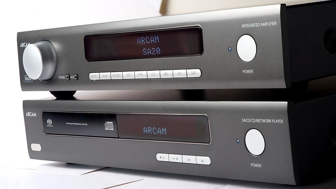 Arcam SA20 & Arcam CDS50