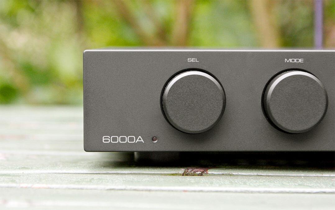 Audiolab 6000A - Drehknöpfe