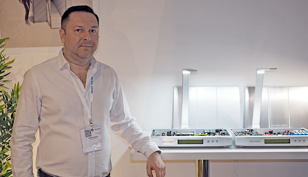 Nicolae Jitariu, CEO von Rockna