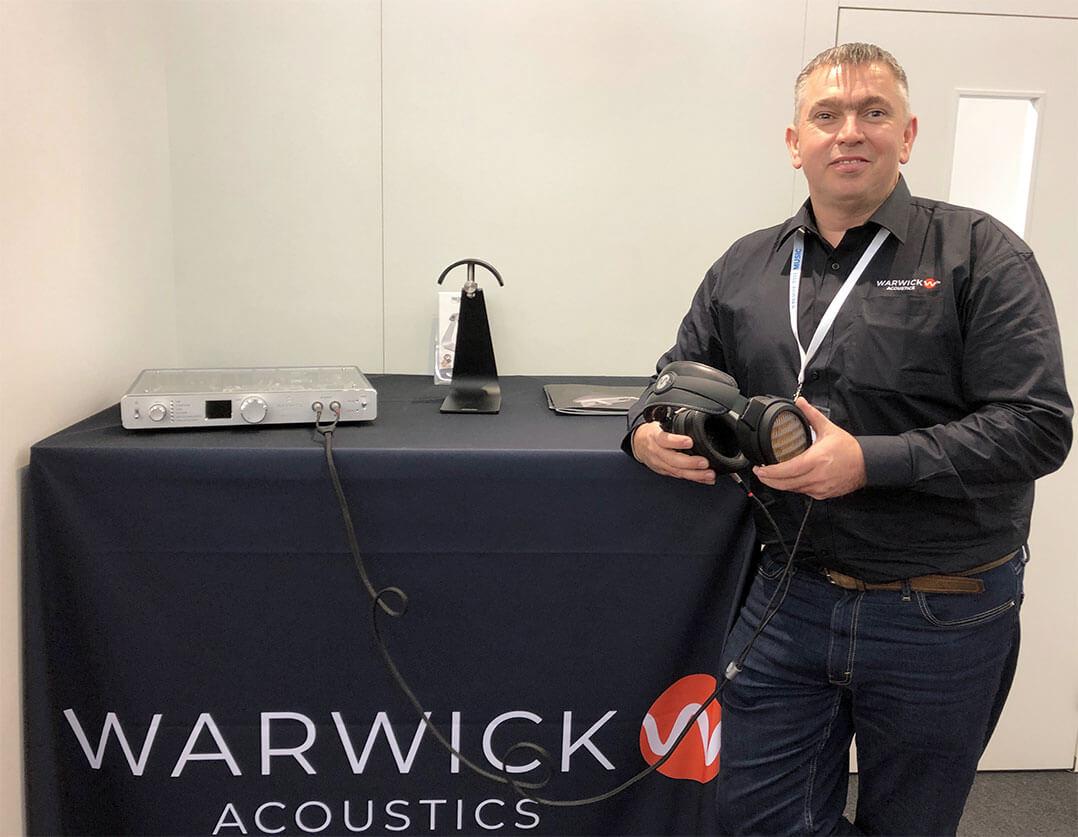 Martin Roberts, Warwick Acoustivs Ltd