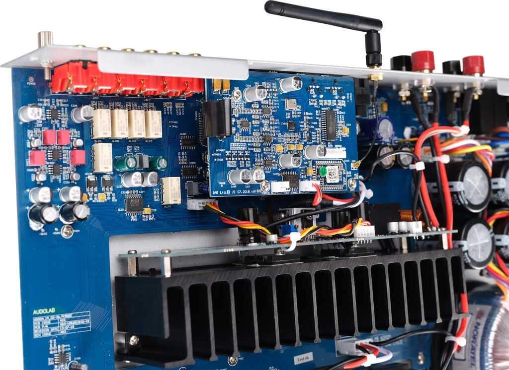 Audiolab 6000A - Endstufensektion