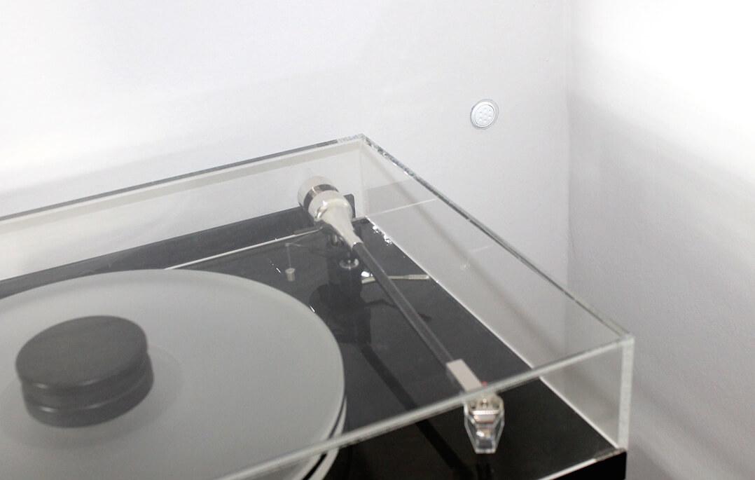 Harmonix RFA-7800 Room Tuning Disks hintern Rack