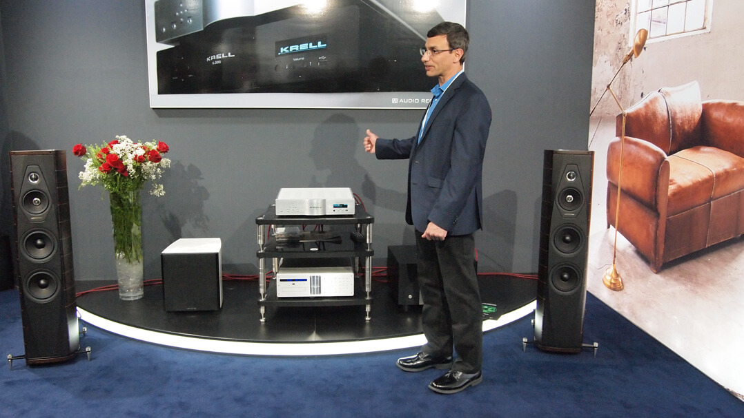 Krell K-300i mit David Goodman