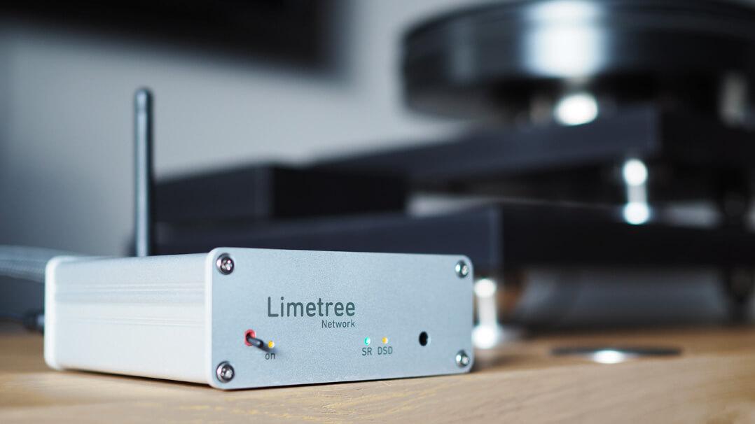 Lindemann Limetree Network auf Rack, frontal