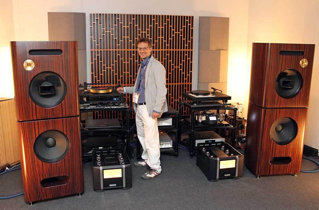 HiFi-Anlage der anderen Art: SoReal-Laufwerk, Thrax-Elektronik und Troy-Audio-Lautsprecher