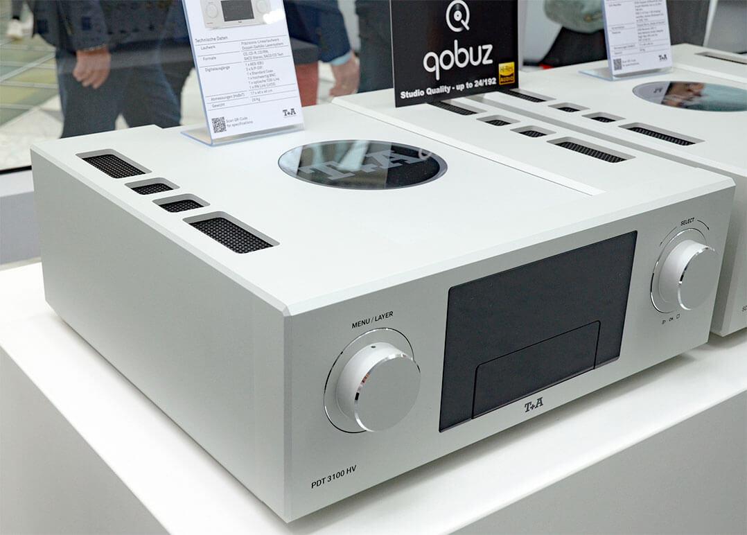 Das SACD/CD-Laufwerk T+A PDT 3100HV