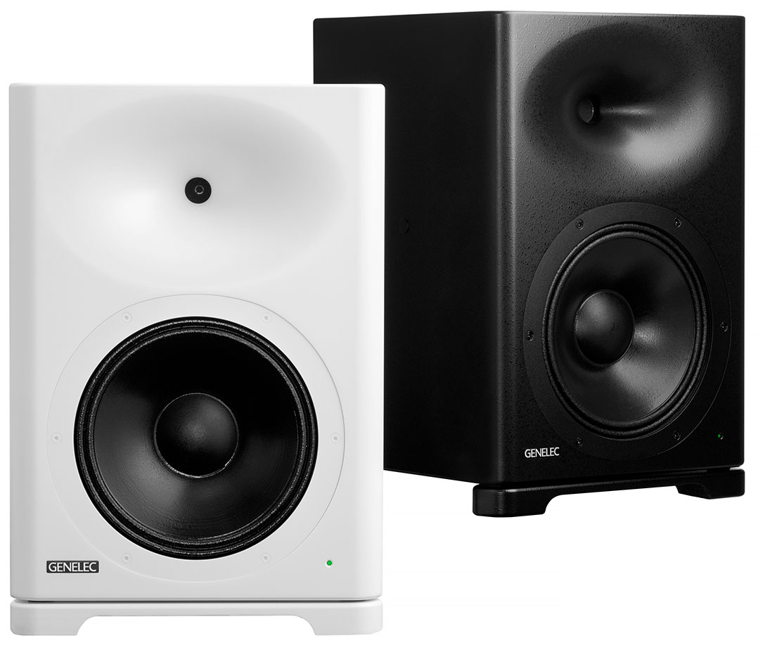 Die Genelec S360 ist in Weiß und Schwarz erhältlich