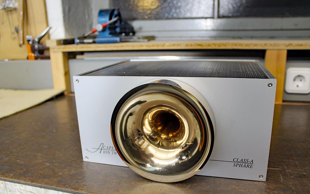 Ionenhochtöner Ion TW 1S mit massivem Hornvorsatz
