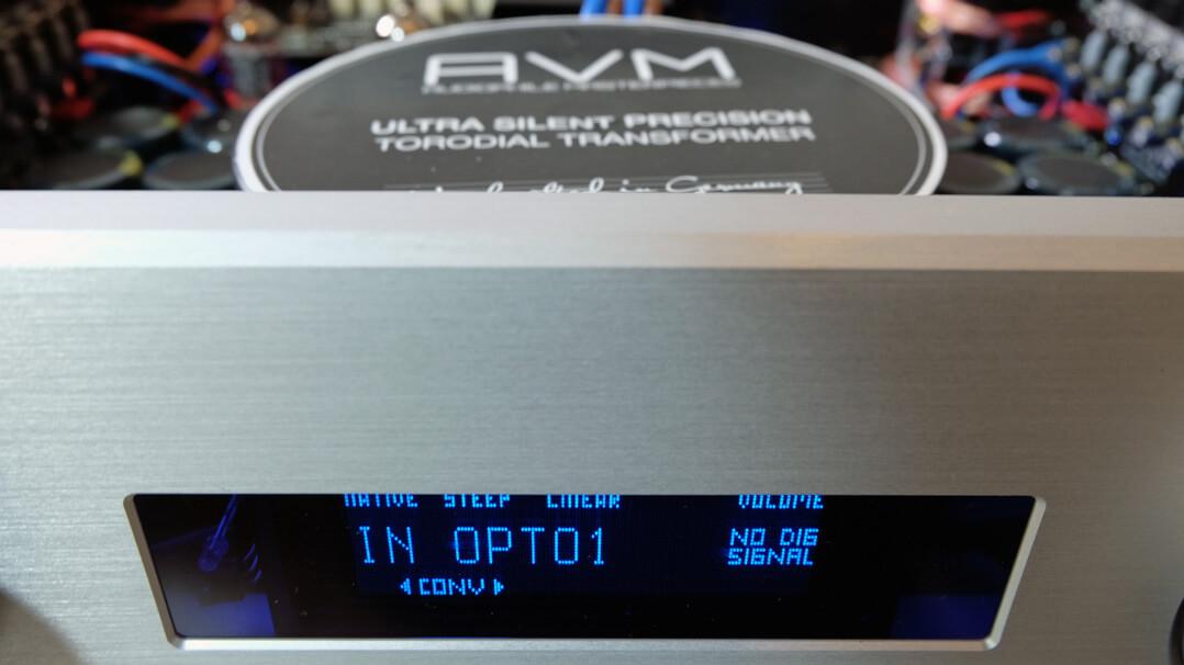 AVM Ovation A 6.3 und AVM Ovation A 8.3 - Trafo