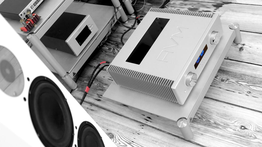 AVM Ovation A 6.3 und AVM Ovation A 8.3 im Hörraum