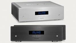 Stereoendstufe AVM Ovation SA 6.3 und Monos AVM Ovation MA 6.3
