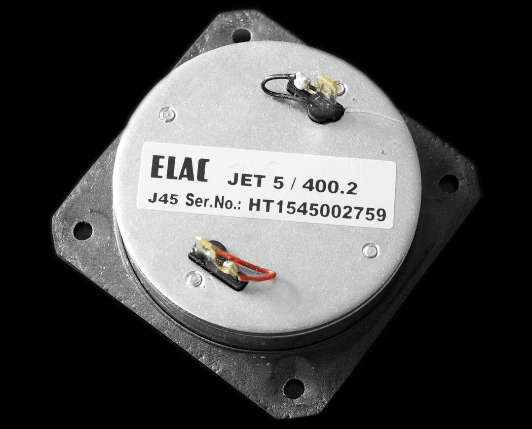 Elac Vela FS 407 AMT ausgebaut