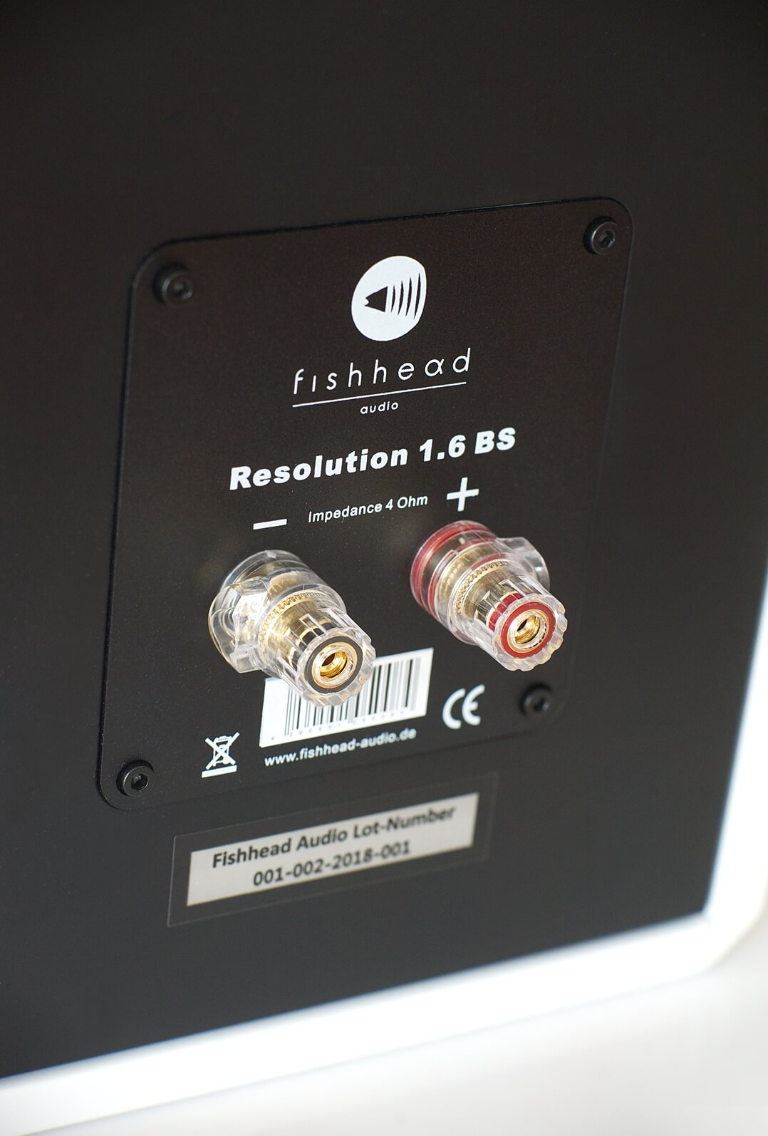 Fishhead Audio Resolution 1.6 BS Single-Wiring-Anschlussterminal