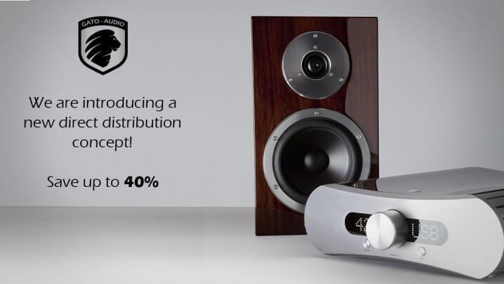 Gato Audio Direktvertrieb mit Rabatt