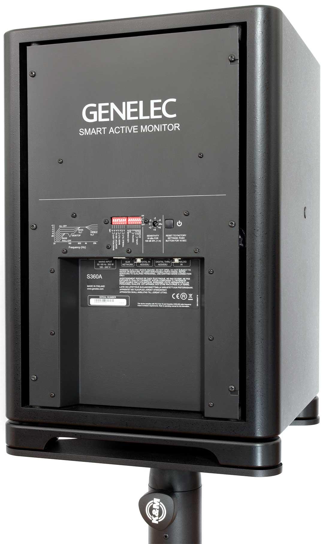 Rückseite der Genelec S360