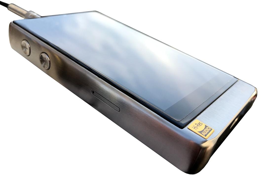 HiBy R6 Pro DAP seitlich