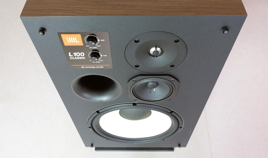 JBL L100 Classic Lautsprecher Schallwand