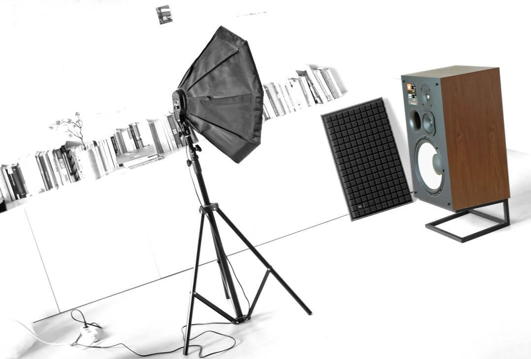 JBL L100 Classic Lautsprecher Fotoshooting