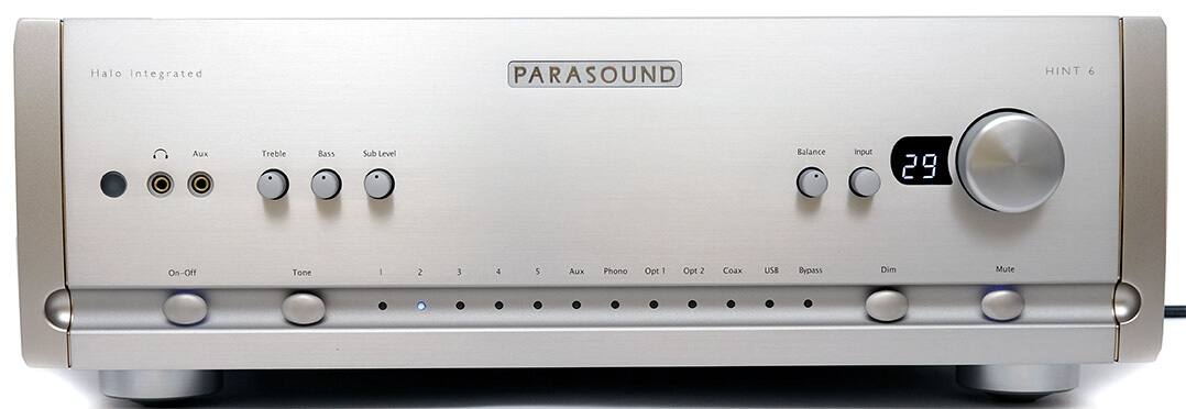 Parasound Hint 6, Frontansicht