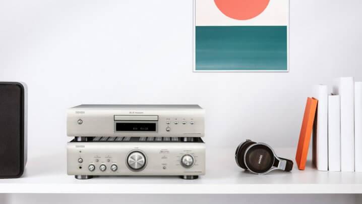 Vollverstärker Denon PMA-600NE und CD-Player Denon DCD-600NE