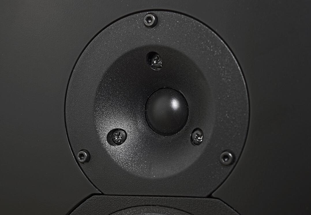 Der Hochtöner der Orbis Sound Pluto besitzt einen kleinen Waveguide
