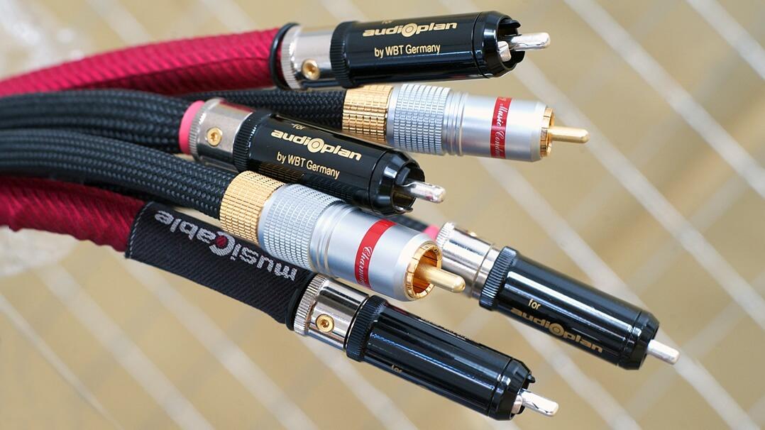 Audioplan Maxwell A, S und U - Test NF-/Cinchkabel