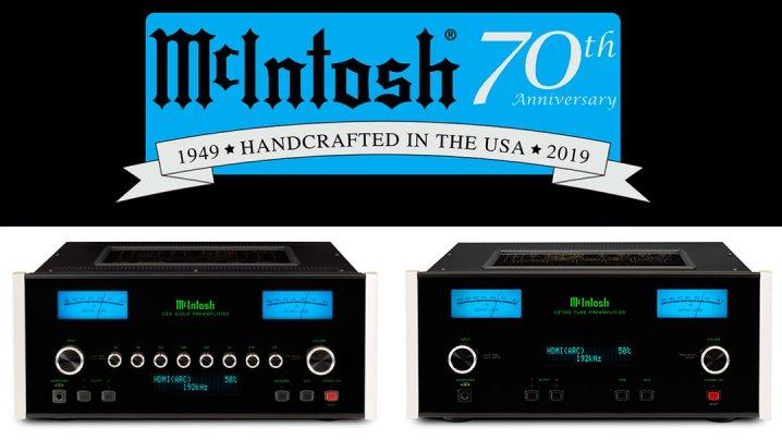 McIntosh-Vorverstärker C53 AC & C2700 AC