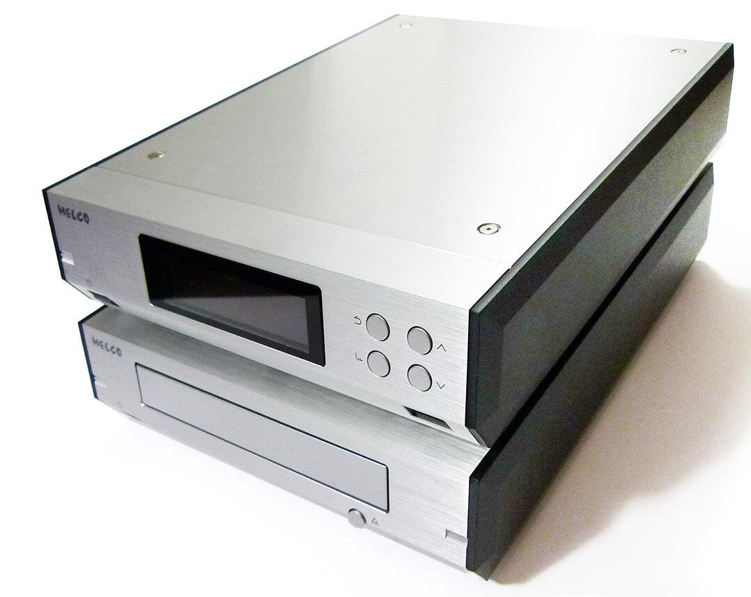 Melco N100 und D100 - CD-Ripper und Server