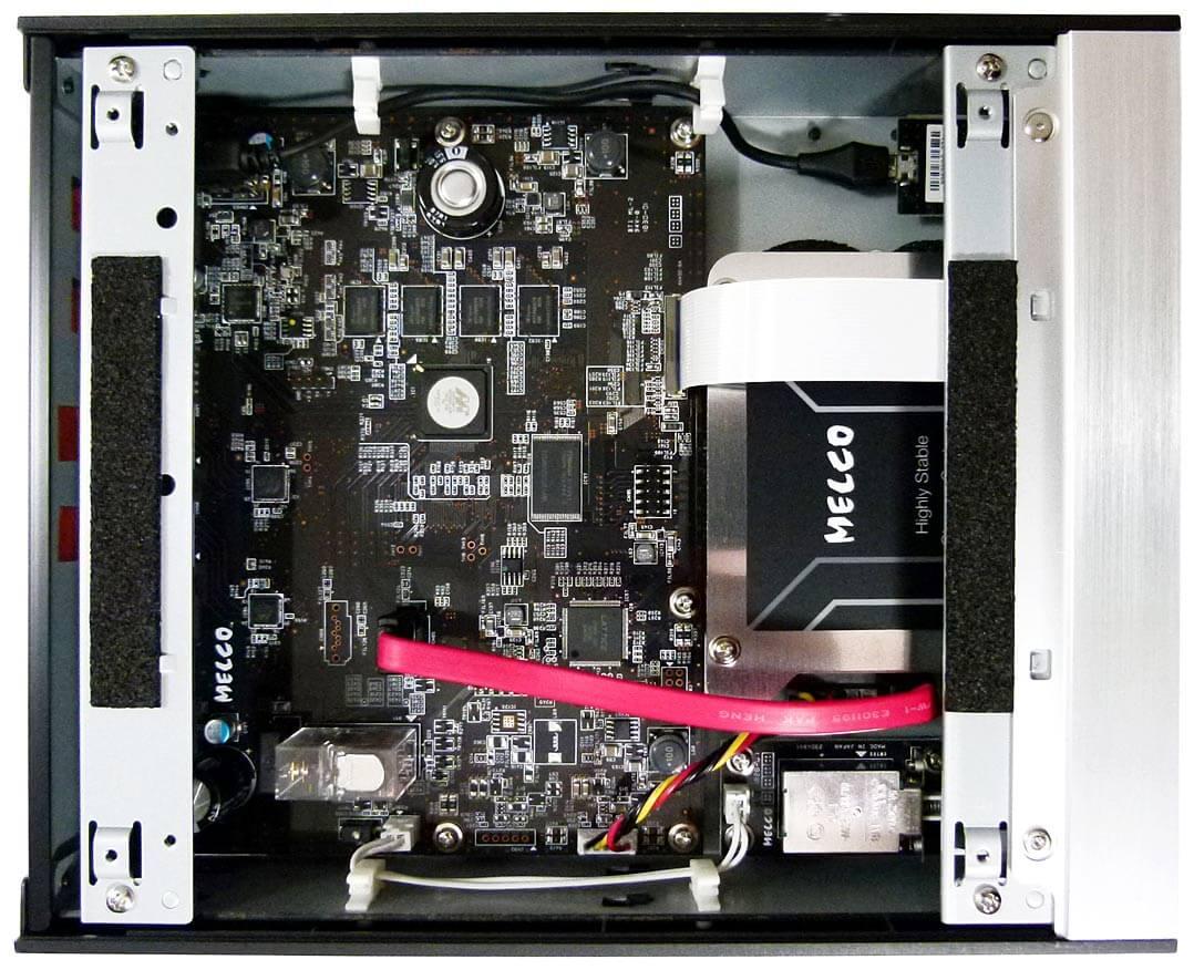 Blick in den Melco N100