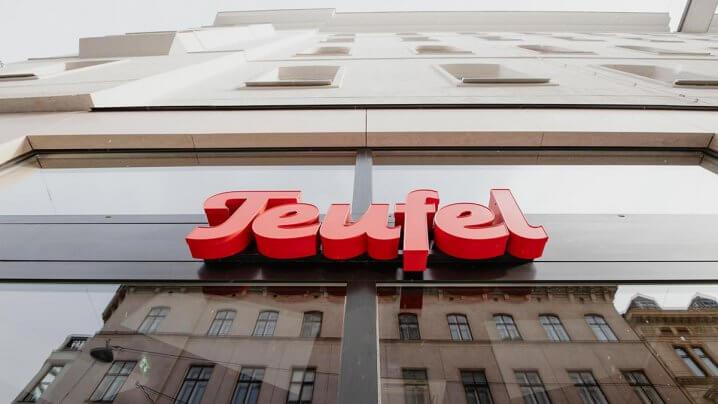 Teufel Store Wien - Logo