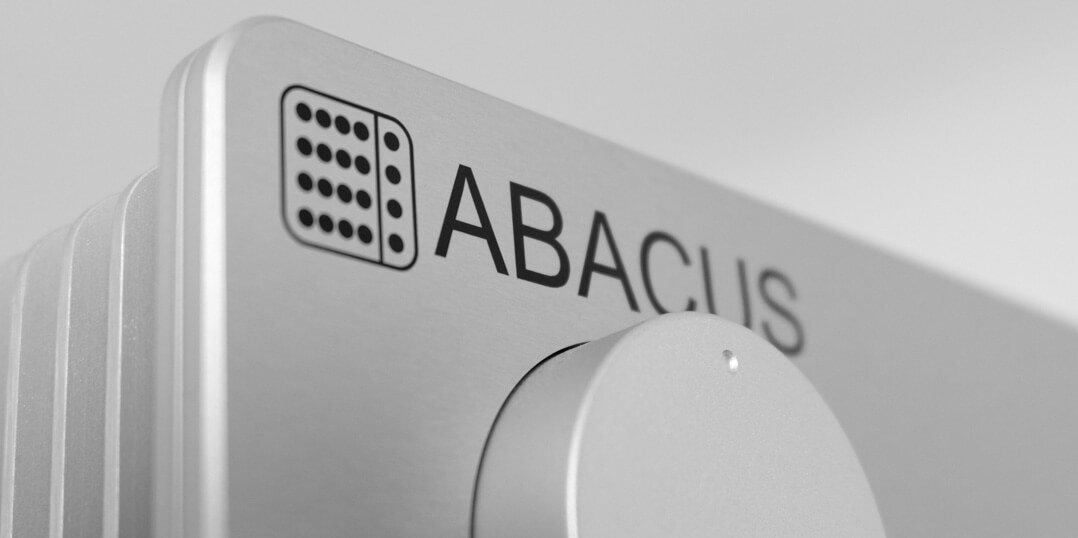 Abacus Ampollo Dolifet Logo auf Front