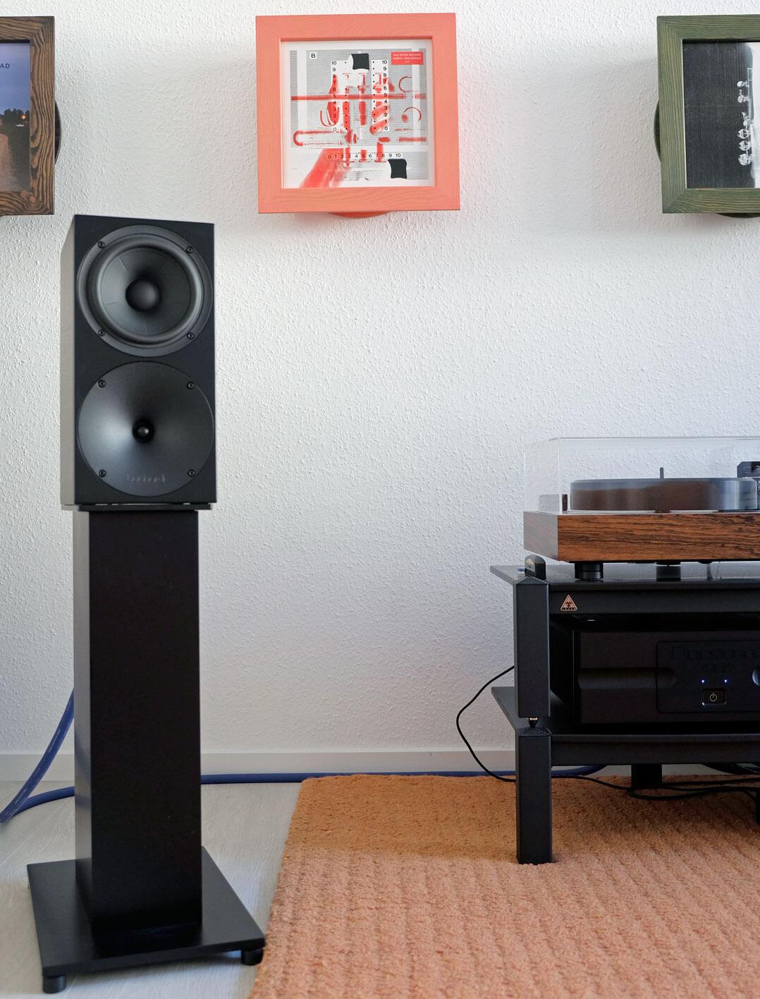 Buchardt Audio S400 im Hörraum