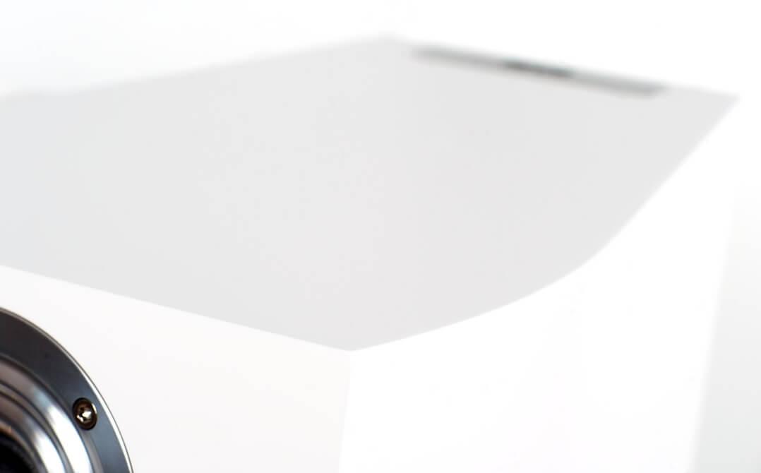 Die Heco Celan Revolution 3 besitzt ein besonderes Gehäuse