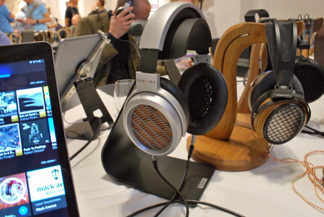 Der zum Sonoma M1 dazugehörige Kopfhörer (Elektrostat)