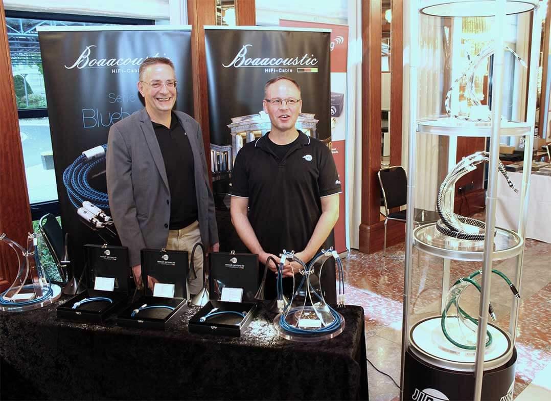 Chris Heuer und York Dettmers von Boaacoustic