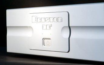 Bryston 3B³ Endverstärker Frontplatte Nahaufnahme