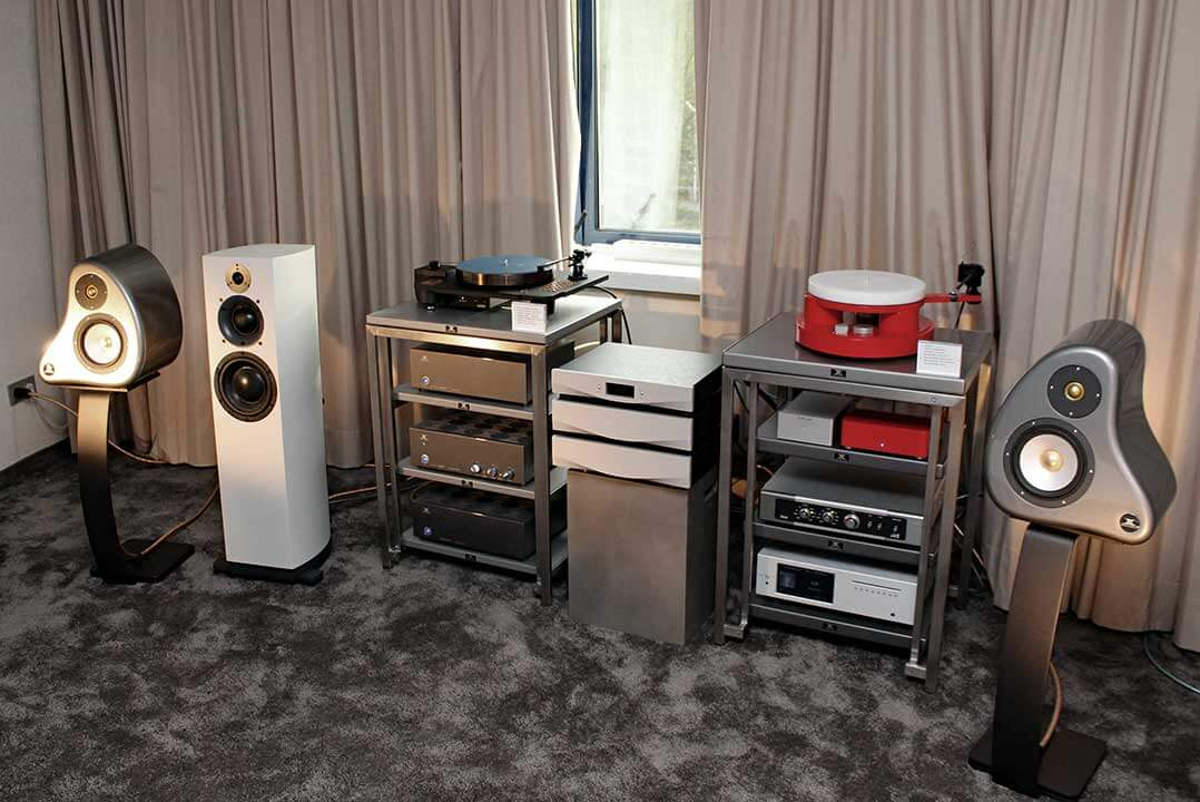 Ensemble Audio im Raum von ATR