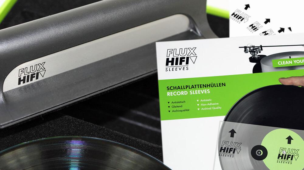 Flux Hifi Sleeves und Vinyl-Brush | Plattenhüllen + Plattenbürste | Testbericht