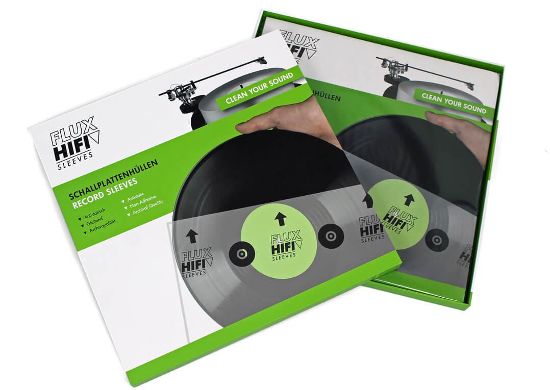 Flux Hifi Sleeves Plattenhüllen - offener Karton