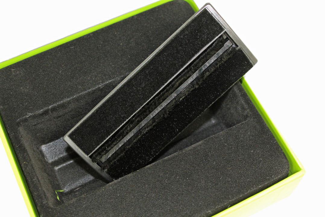 Flux Vinyl-Brush Plattenbürste von unten