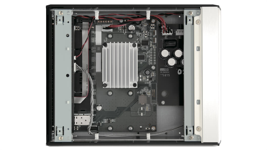 Melco S100 Audio Switch Innenaufnahme