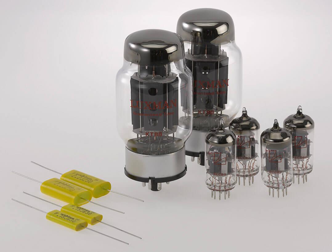 Röhrenbestückung der Luxman MQ 88uC
