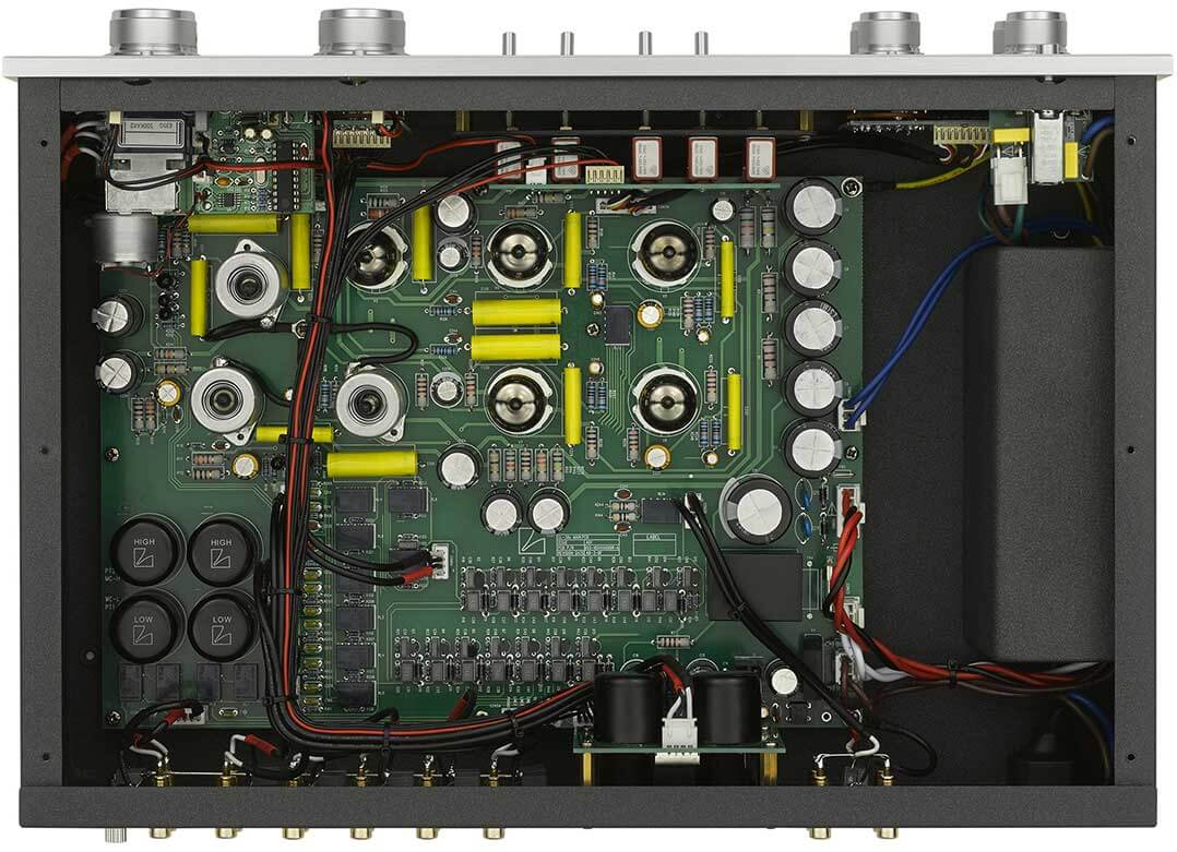 Blick ins Innere der Luxman CL 38uC