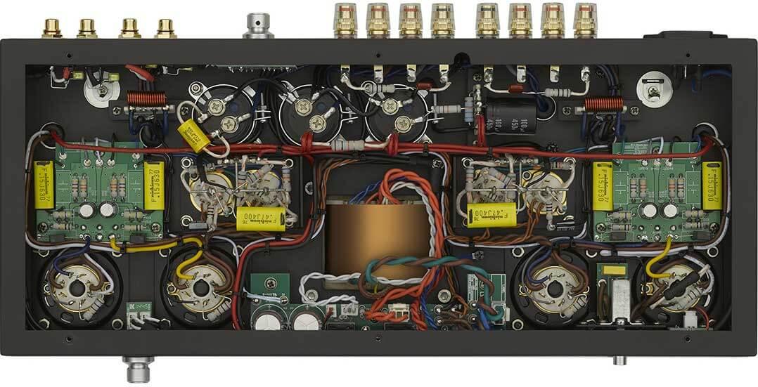 Blick ins Innere der Luxman MQ 88uC
