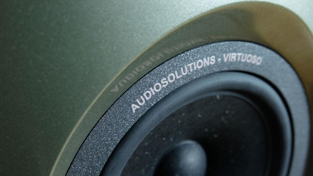 AudioSolutions Virtuoso M: Lautsprechersicke