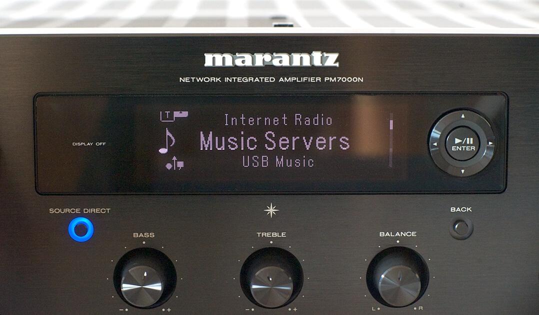 Marantz PM7000N Display
