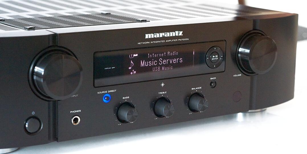 Marantz PM7000N von vorne