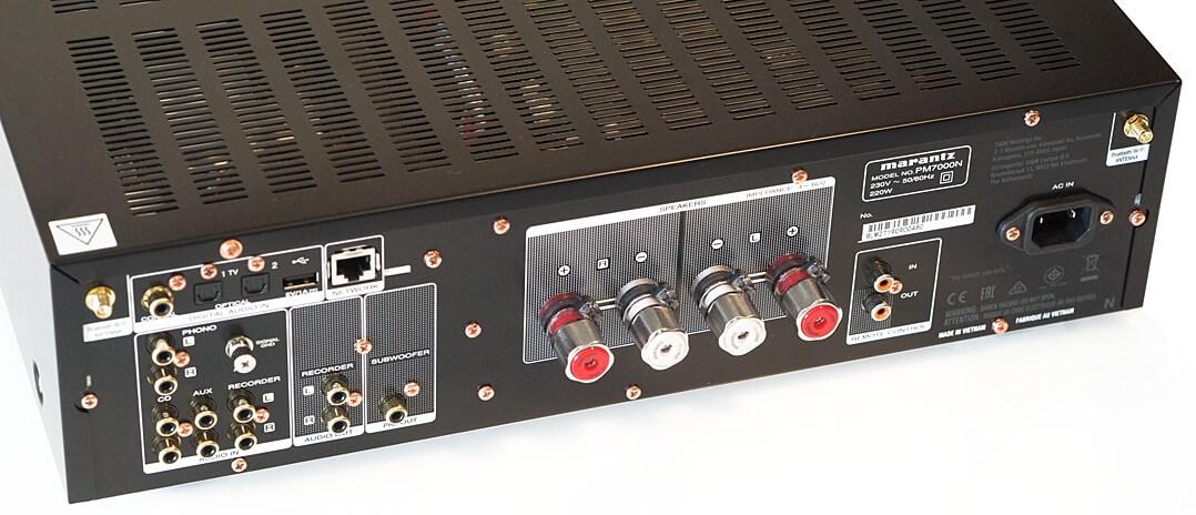 Marantz PM7000N Lautsprecherklemmen
